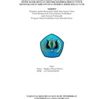 41154030160056 BAGHEA NURUL PRATIWI - SKRIPSI - BAGIAN DEPAN.pdf