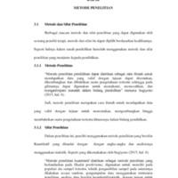 41154030140077 Annisa Fatimah - BAB III Metode Penelitian.pdf